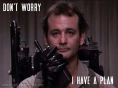 Happy Murray Monday!  That's right. There's nothing like a little Bill Murray to brighten your week. And mine.