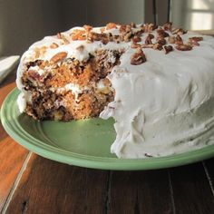 """Sam's Famous Carrot Cake 
