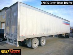 """Our featured #trailer is a 2005 #GreatDane #Reefer 