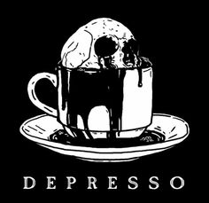 This pun has been made a million times but I don't care and I will put skulls in coffee cups as much as I damn well please. Art Sketches, Art Drawings, Shotting Photo, Skeleton Art, Skeleton Drawings, Arte Obscura, Skull Art, Aesthetic Art, Aesthetic Black
