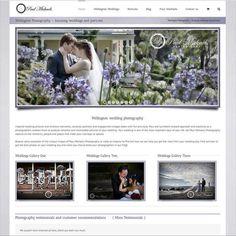 Portfolio of website designs created in wellington by Castlenet web services. Best Web Design, Web Design Trends, Web Design Inspiration, Creative Photography, Amazing Photography, Wedding Photography, Great Websites, Web Design Services, Amazing Weddings