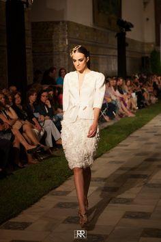 """ALCAZAR"" by #AlejandroPostigo #FashionShow #SIQ #SEVILLAHANDCRAFTFASHION Photo by #Erregiro"
