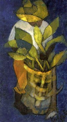 L'homme à la plante by Louis Toffoli