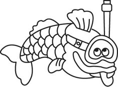 Avril, Pisces, Coloring Pages