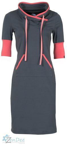 maxi dress sportief