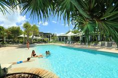 Beach+Entry+Pools | Heated pool with sand beach entry - Picture of RACV Noosa Resort ...