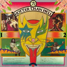 Kiss - Hotter -Than Hell - 1974 - Full Album Paul Stanley, Gene Simmons, Kiss Album Covers, Kiss Crazy Nights, Kiss Records, Real Superheroes, Peter Criss, Vintage Kiss, Vinyl Cd