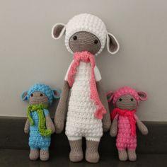 Ak at home : crochet by Lalylala pattern