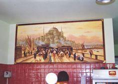 Ζωγραφική σε εστιατόριο