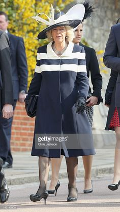 Camilla, Duchess of Cornwall arrives for a thanksgiving service for the Queen Mother and Princess Margaret at St George's Chapel on March 2012 in Windsor, England. Get premium, high resolution news photos at Getty Images Thanksgiving Service, Home Wrecker, Camilla Duchess Of Cornwall, Royal Clothing, Camilla Parker Bowles, Princess Margaret, Queen Mother, Elegant Woman, British Royals
