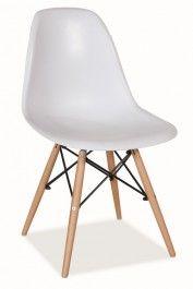 Jídelní židle MODENA bílá Eames, Chair, House, Furniture, Design, Home Decor, Products, Ideas, Atelier