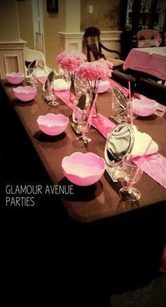 Makeup Party Decorations Mary Kay 15 New Ideas Spa Day Party, Girl Spa Party, Spa Birthday Parties, Pamper Party, Make Up Party, Teen Parties, Sleepover Party, Mary Kay Party, Kinder Spa Party