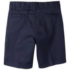 Dickies Boys' Relaxed Fit Flexwaist Shorts w/ Extra Pocket - Dark Navy 16