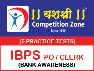 IBPS PO - CLERK Bank Awareness 5 Practice Tests. Buy Bank PO online Test Series.