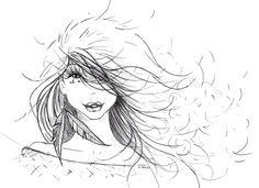Bourasque Illustrations, Female, Anime, Art, Anime Shows, Kunst, Illustration, Illustrators, Art Education
