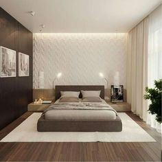Cool 42 Minimalist Bedroom Ideas For Couple. More at http://dailypatio.com/2017/12/22/42-minimalist-bedroom-ideas-couple/ #bedroomideasforcouples