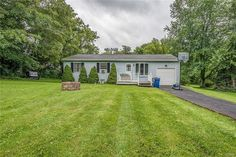 Beautiful maintained 4 bedroom, 2 full bath Ranch in the Marcellus School District just outside of the village!  This ranch sits on just under an Acre of land and is within walking distance to Marcellus Park.  Built in 1990 this young home features and open dining/living room,  a sun room in the back looking out to the beautiful backyard, a walk-up basement, and a 1 car garage.  This won't last!  Call today before it's gone!
