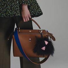Check out Fendi's brand new Resort 2016 handbags! Fendi Bag Bugs, Fendi Bags, Fashion Bags, Fashion Accessories, How To Make Handbags, Modern Outfits, New Bag, Beautiful Bags, Backpacks