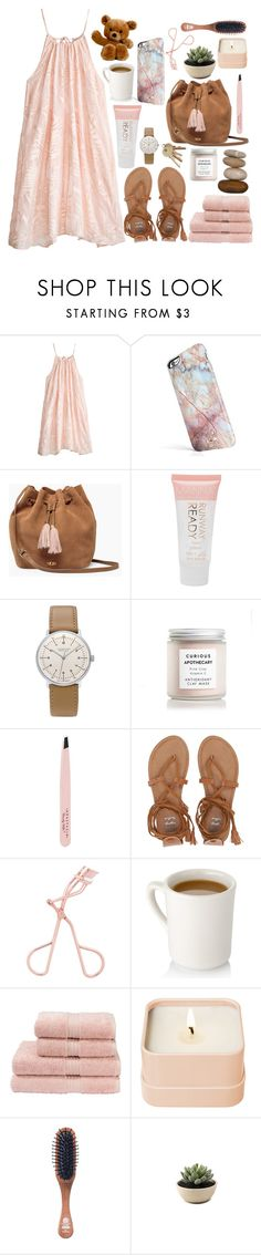 """""""pink"""" by softheartt ❤ liked on Polyvore featuring Calypso St. Barth, UGG, Manna Kadar Cosmetics, Junghans, SkinCare, Anastasia Beverly Hills, Billabong, Christy, Henri Bendel and Kent"""