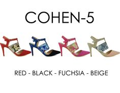 COHEN-5 by Athena Footwear <available in 4 colors> Call (909)718-8295 for wholesale inquiries - thank you!
