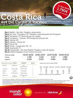 4x4 Costa Rica del Caribe al Pacífico ultimo minuto - http://zocotours.com/4x4-costa-rica-del-caribe-al-pacifico-ultimo-minuto/
