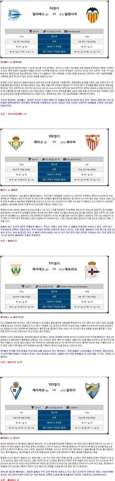 [축구★토정비결★ 25일~26일 <라리가종합>