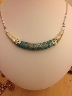 Polymer Clay Necklaces made to order by 0RosiesJewellery on Etsy