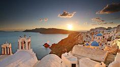 Oia Village in Greece