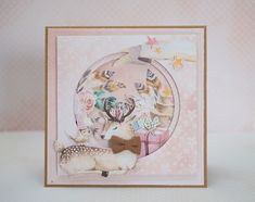Crafty by AgnieszkaBe Forest Friends, Kids Cards, Cardmaking, Crafty, Frame, Flowers, Handmade, Scrapbooking, Action