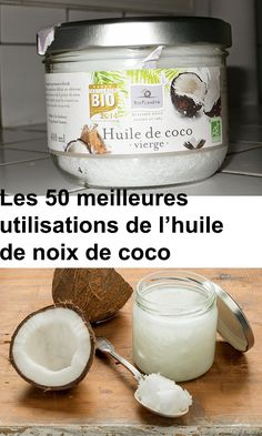 The 50 Best Uses of Coconut Oil - Health Nutrition Coconut Oil Uses, Natural Cosmetics, Baking Ingredients, Health And Nutrition, Cookie Dough, Body Care, Brunch, The Cure, Food And Drink