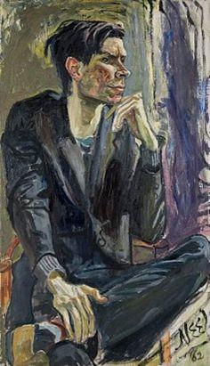 robert smithson by alice neel