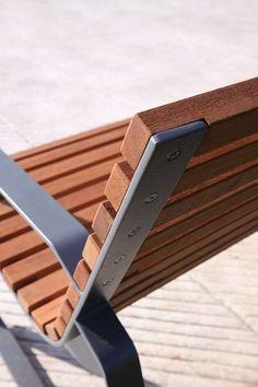 mmcité termékek padok preva urbana is part of Loft furniture - Welded Furniture, Iron Furniture, Street Furniture, Home Decor Furniture, Furniture Design, Loft Furniture, Wood Steel, Wood And Metal, Metal Picnic Tables
