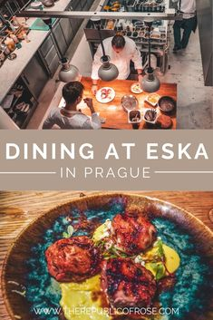 Wondering where to dine in Prague? Eska was one of my favorite meals in Prague with delicious food and a hip ambience. Visit Prague, Prague Travel, Restaurant Offers, The Republic, Foodie Travel, Bakery, Favorite Recipes, Yummy Food, The Incredibles