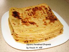 Sometimes it's kind of cool to bring variety even when cooking the same stuff you normally make. An extra effort makes enjoying the food even easier. So, this is a suggestion on how you can make your parathas/chapatis look different even though the taste will remain as you like it.