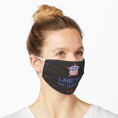 """USA-Land, das ich liebe"" Maske von Herogoal | Redbubble Bad Bunny, Kawaii, To Infinity And Beyond, Fashion Face Mask, T Rex, Mask Design, Mask For Kids, Spandex Fabric, Skateboarding"