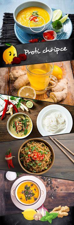 Bojujte proti chřipce, a navíc si výborně pochutnejte. Ethnic Recipes, Food, Essen, Yemek, Meals