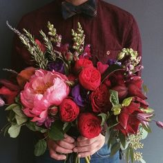 The Farmers Daughter Flowers . We went big for this romantic November wedding Farmer's Daughter, November Wedding, Warhol, Girl Boss, Farmers, Big Day, Pittsburgh, Bouquets, Wedding Flowers