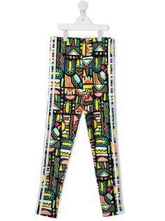 Adidas Originals Kids' Abstract Print Leggings In Neutrals World Of Fashion, Kids Fashion, Fashion Design, Adidas Kids, Print Leggings, Abstract Print, White Cotton, Luxury Branding, Adidas Originals