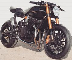 old school : overboldmotorco:   Cool Suzuki GSX Cafe Racer by...