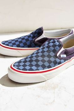 vans burger checkered slip on nz