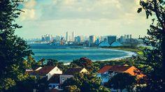 Olinda olhando para Recife! Pernambuco-Brasil.