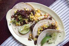 Tacos de Carnitas de Pato (Braised Duck Tacos)