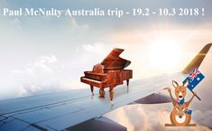 Paul McNulty 2018 Australia trip!!!  19-25.2 Canberra, 26.2 Melbourne, 27.2 - 3.3 Sydney, 4.3 - 9.3 Perth  :-) www.fortepiano.eu