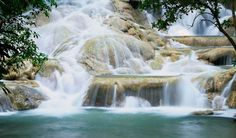 1. Dunns River Falls & Park Dunns River Falls & Park is the most famous tourist attraction in the country. The destination is a waterfalls located at Ocho Rios in Jamaica. People has two ways to climb the falls – they either use the stairs which is easier or with the assistance of tour guides, tourists can also tread the adventurous path and climb the falls while water is running down on them. In total, the adventurous climb will take a maximum of 90 minutes for those who are not pro...