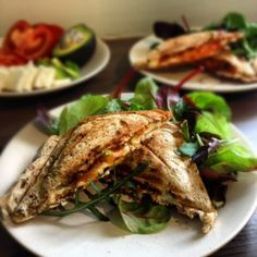 Tomato, Feta and Avocado Toastie inspired by Jamie Oliver, made by Susty Meals | Sarah Irving