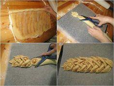Balisier en pâte feuilletée