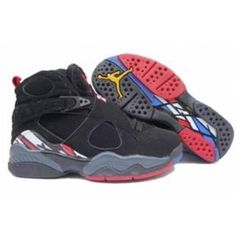 outlet store 38178 509d9 Jordan Shoes Air Jordan 8 Original Playoffs Black True Red  Air Jordan 8 -  Absolutely you will become more fashionable if you wear a pair of the Air  Jordan ...