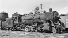 L&N RR 2-8-2 locomitve #1456