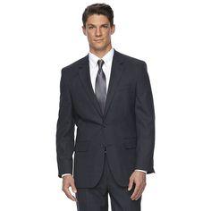 Men's Croft & Barrow® Classic-Fit Wool Suit Jacket, Size: 44 - regular, Blue