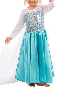 Frozen Elsa Princess Dress by Heart to Heart at Gilt